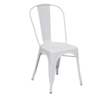 chaise-metal-blanche-ch43