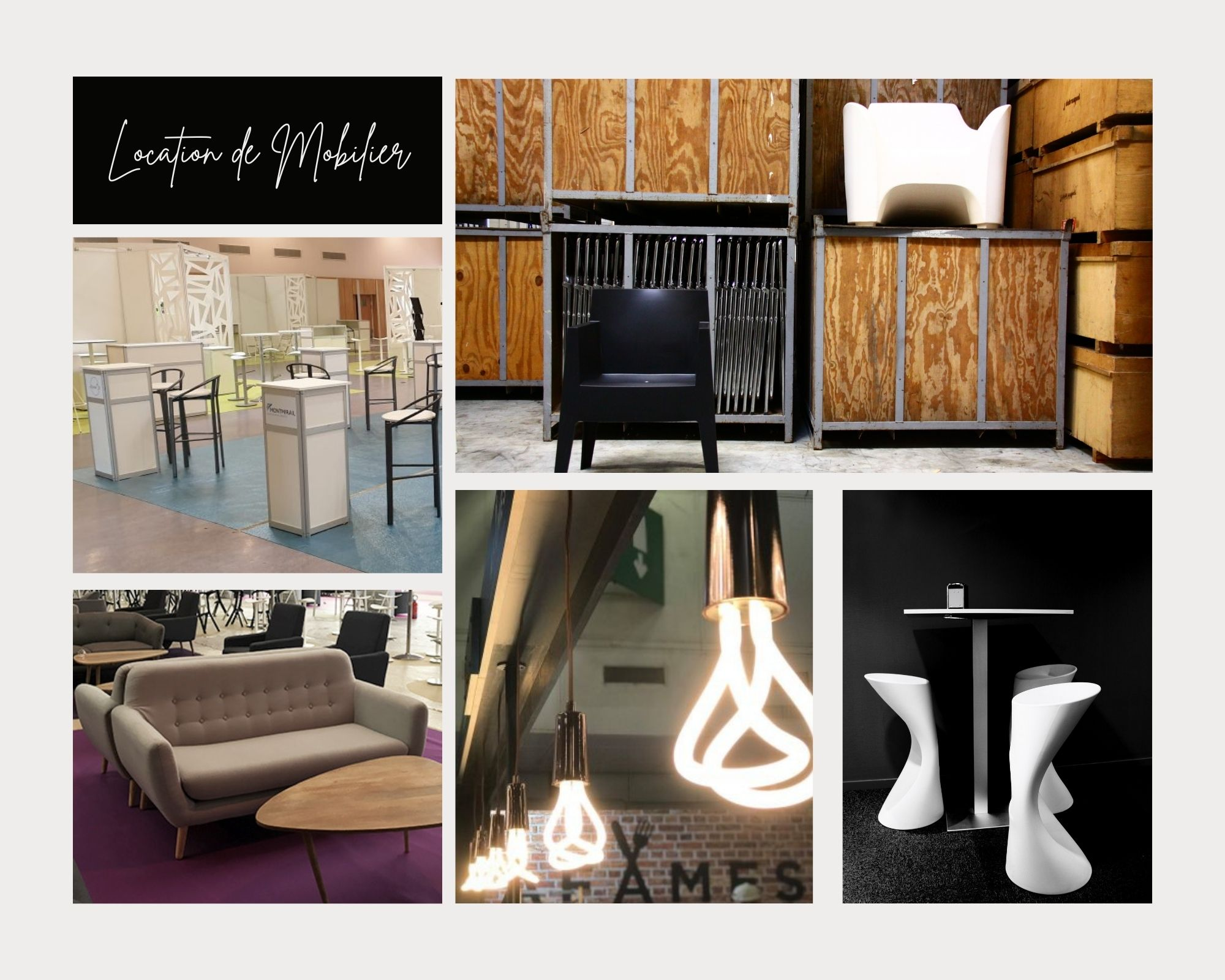 Offre Location Mobilier